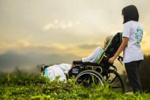 Ausflüge mit älteren Menschen